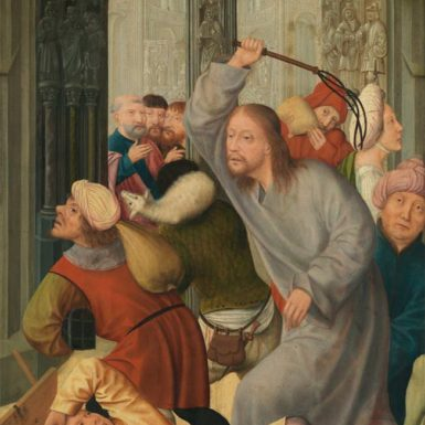 Quentin Massys: Christ Driving the Money-Lenders from the Temple, 16th century