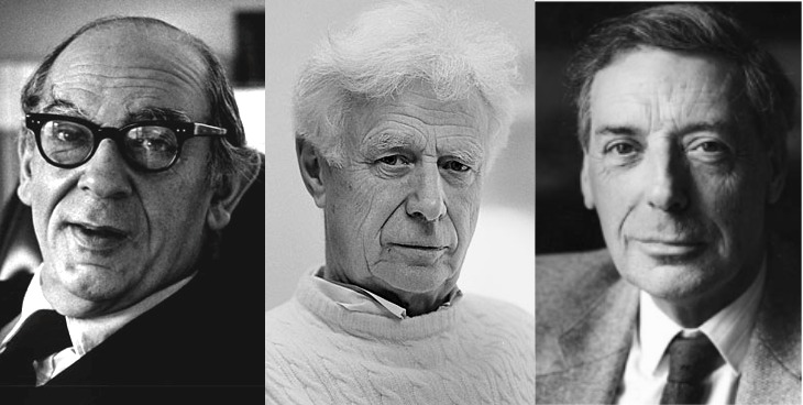Isaiah Berlin, Stuart Hampshire, and Bernard Williams.jpg