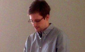 Edward Snowden, Sheremetyevo airport, Moscow, Russia, July 12, 2013