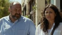 James Gandolfini and Julia Louis-Dreyfus in <i>Enough Said</i>