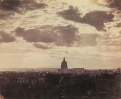 Charles Marville: <i>Sky Study, Paris</i>, 1856–1857
