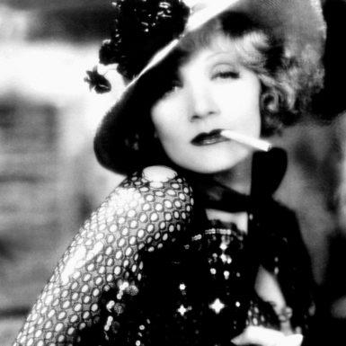 Marlene Dietrich in Josef von Sternberg's Blonde Venus, 1932