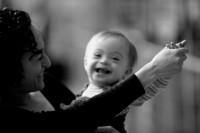 Rachel Adams and her son Henry, New York City, 2009