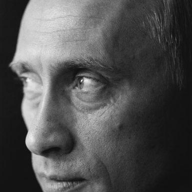 Vladimir Putin at Novo-Ogaryovo, the presidential residence outside Moscow, June 2002