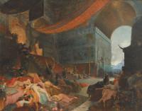 Georges Antoine Rochegrosse: <i>The End of Babylon</i>, circa 1890