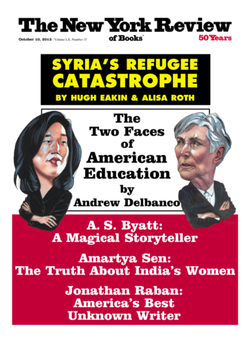 Image of the October 10, 2013 issue cover.