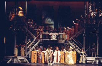 The 1967 production of Handel's Giulio Cesare at the New York City Opera