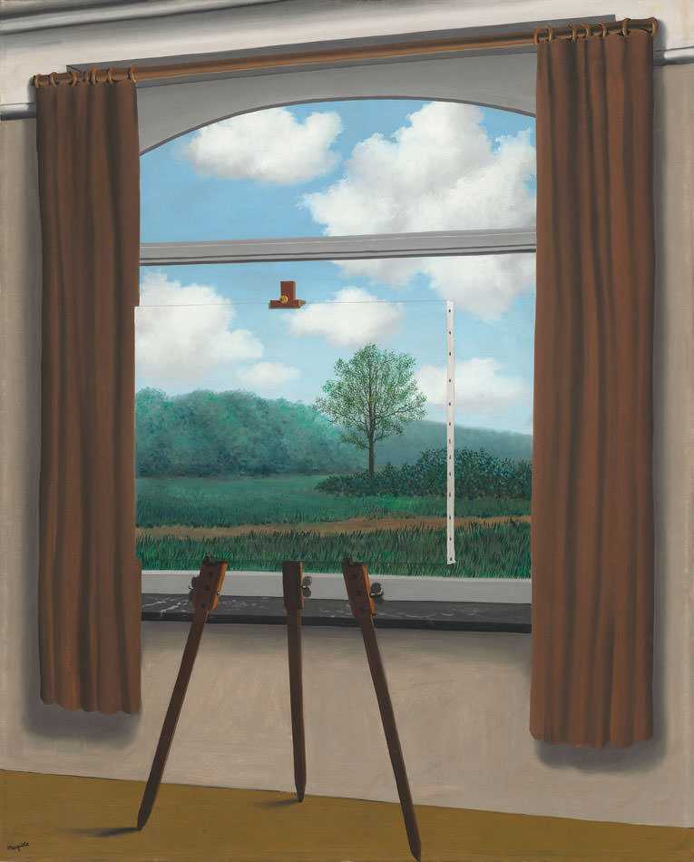 Losing sight of magritte by francine prose nyr daily for Rene magritte le faux miroir