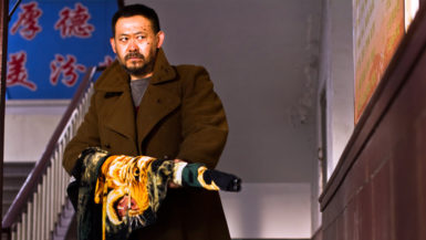 Jiang Wu as an angry miner in Jia Zhangke's A Touch of Sin
