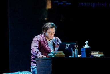 Paul Appleby as Brian in Nico Muhly's Two Boys