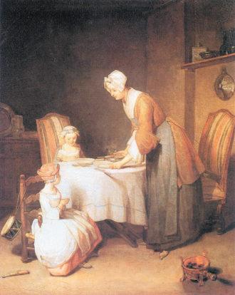 Jean-Baptiste Simeon Chardin: Saying Grace, 1740