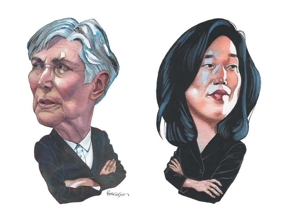 Diane Ravitch and Michelle Rhee
