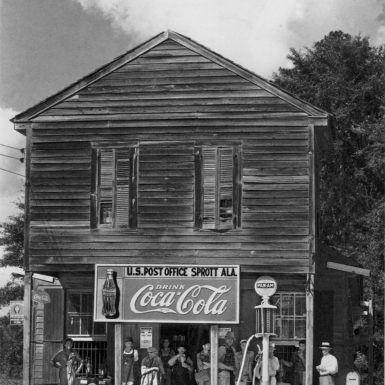 Walker Evans: Crossroads Store, Post Office, Sprott, Alabama, circa 1935–1936