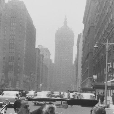 Garry Winogrand: Park Avenue, New York, 1959