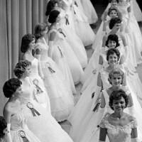 The Miss North Carolina beauty pageant, 1961; photograph by Burt Glinn