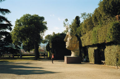 The Boboli Gardens in Florence, 2002; photograph by Chris Steele-Perkins