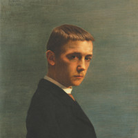 Félix Vallotton: Self-Portrait at the Age of Twenty, 1885