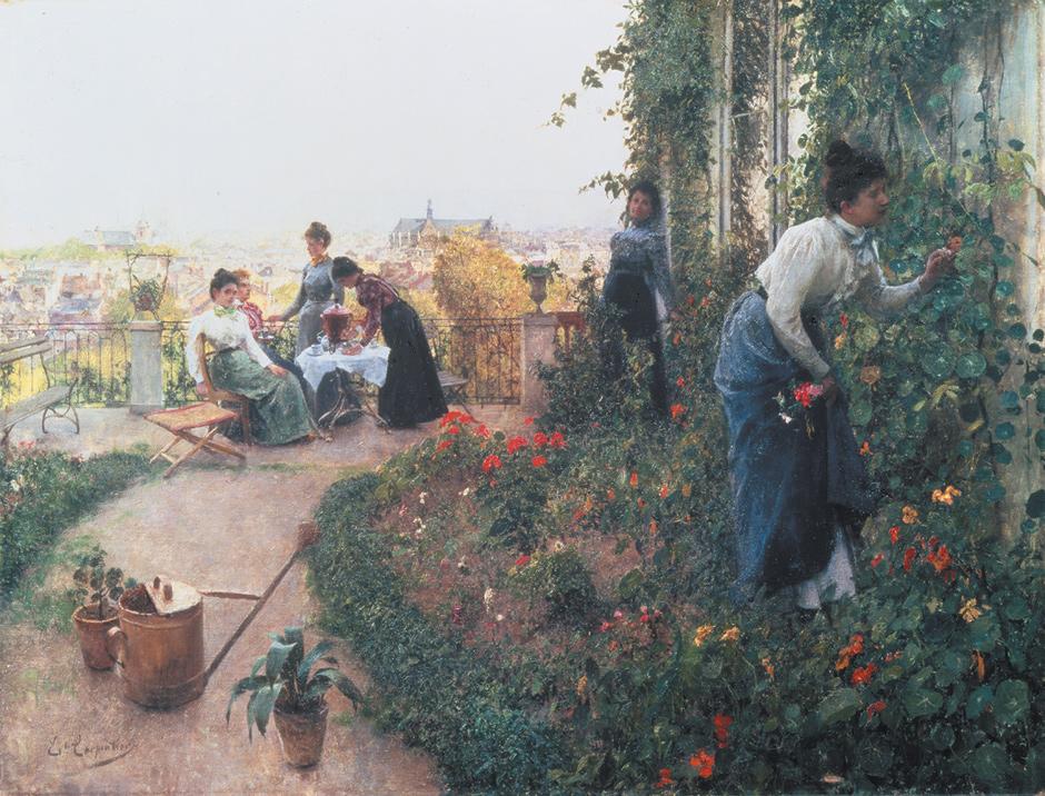 Evariste Carpentier: A Summer Afternoon, circa 1900