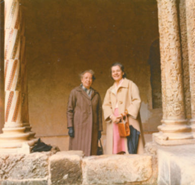 Hannah Arendt and Mary McCarthy, Sicily, 1971