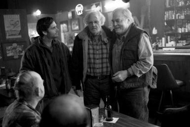 Will Forte, Bruce Dern, and Stacy Keach in Alexander Payne's Nebraska