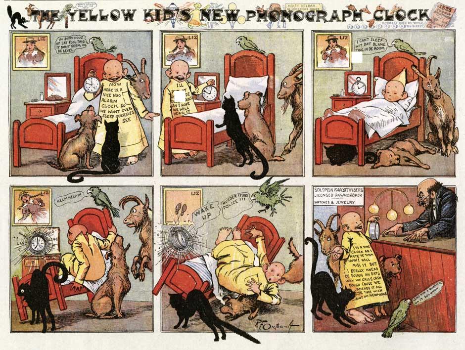 Society is Nix 3 Yellow Kids Phonograph.jpg