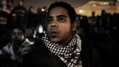 Ahmed Hassan in Jehane Noujaim's documentary The Square