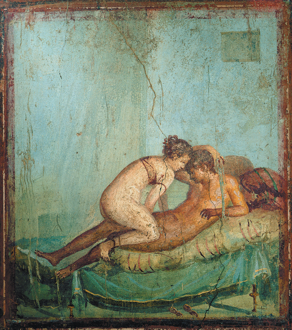 Fresco from the House of the Centurion, Pompeii, first century BCE