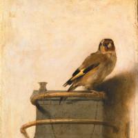 Carel Fabritius: <i>The Goldfinch</i>, 1654