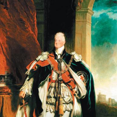 King William IV; portrait by Sir Martin Archer Shee, 1833