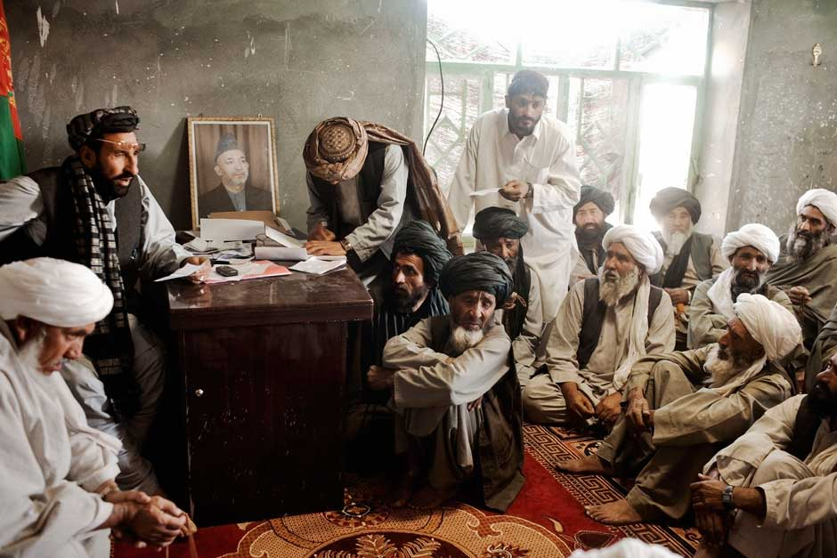 Zahir with local leaders.jpg