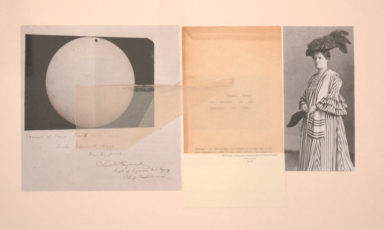 Janet Malcolm: Common Sense, a collage from her 'Emily Dickinson Series,' 2013