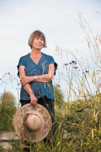 Margaret Drabble, Porlock, Somerset, July 2011