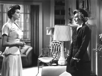 Ava Gardner and Barbara Stanwyck in East Side, West Side, 1949