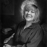 Fay Weldon, circa 1985
