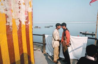 Varanasi, India; photograph by Raghu Rai