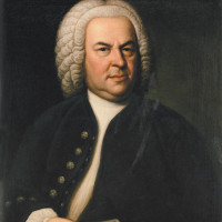 Johann Sebastian Bach; painting by Elias Gottlob Haussmann, 1748