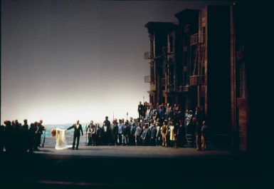 A production of Richard Wagner's Götterdämmerung, Bayreuth, 1979