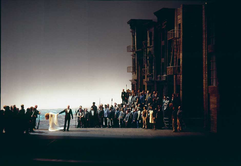 A production of Richard Wagner's Götterdämmerung, Bayreuth, 1979