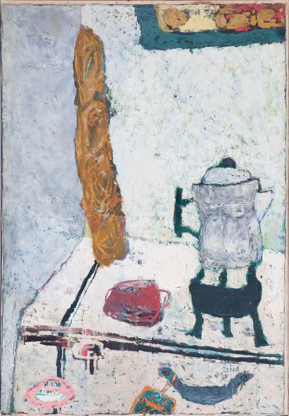 Lyn Brown Brockway: Breakfast In A Paris Lodging.jpg