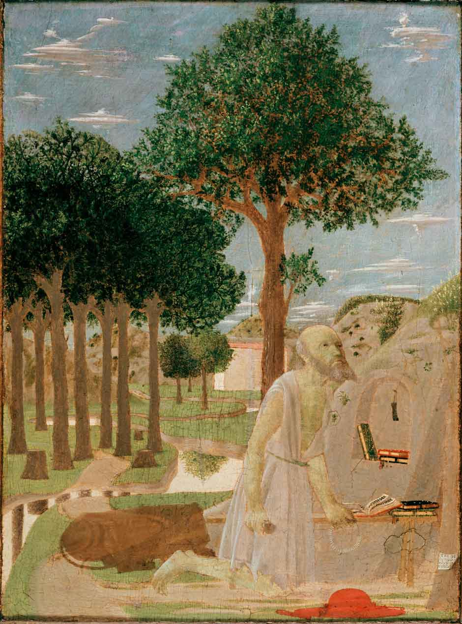 Piero della Francesca: Saint Jerome in the Wilderness.jpg