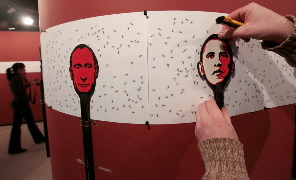 Putin and Obama art installation.jpg
