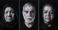 Shirin Neshat: Wafaa, Ahmed, and Mona, from her