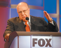 Roger Ailes, chairman and CEO of Fox News, Pasadena, California, July 2006