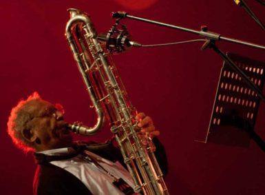 Anthony Braxton playing at the Skopje Jazz Festival, Skopje, Macedonia, October 19, 2012