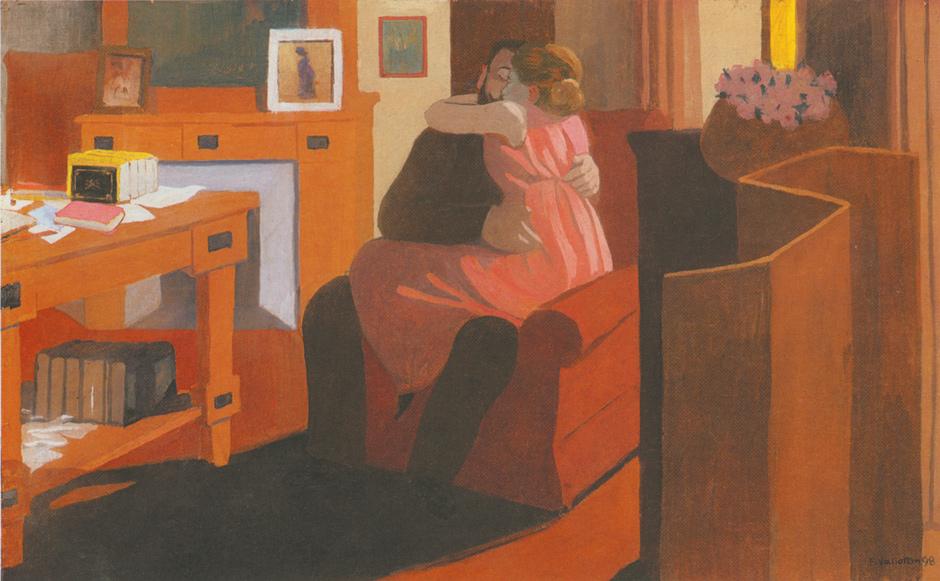 Félix Vallotton: Cinq Heures or Intimité, 1898
