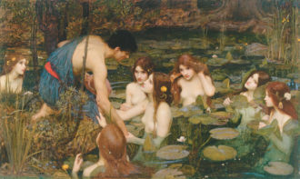John William Waterhouse: Hylas and the Nymphs, 1896