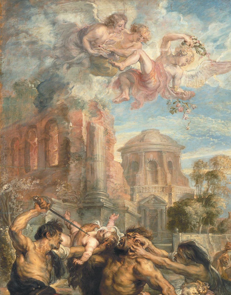 Peter Paul Rubens: The Massacre of the Innocents (detail), 1636–1638
