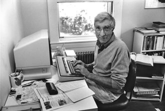 John Updike, Beverly Farms, Massachusetts, 1987