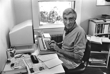 John Updike, Beverly Farms, Massachusetts, 1987