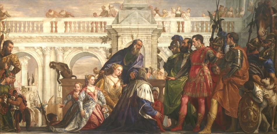 Paolo Veronese: The Family of Darius before Alexander, 1565-1567